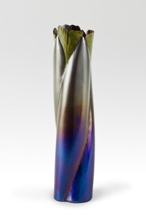 The 3 Leaf Ginkgo Vase