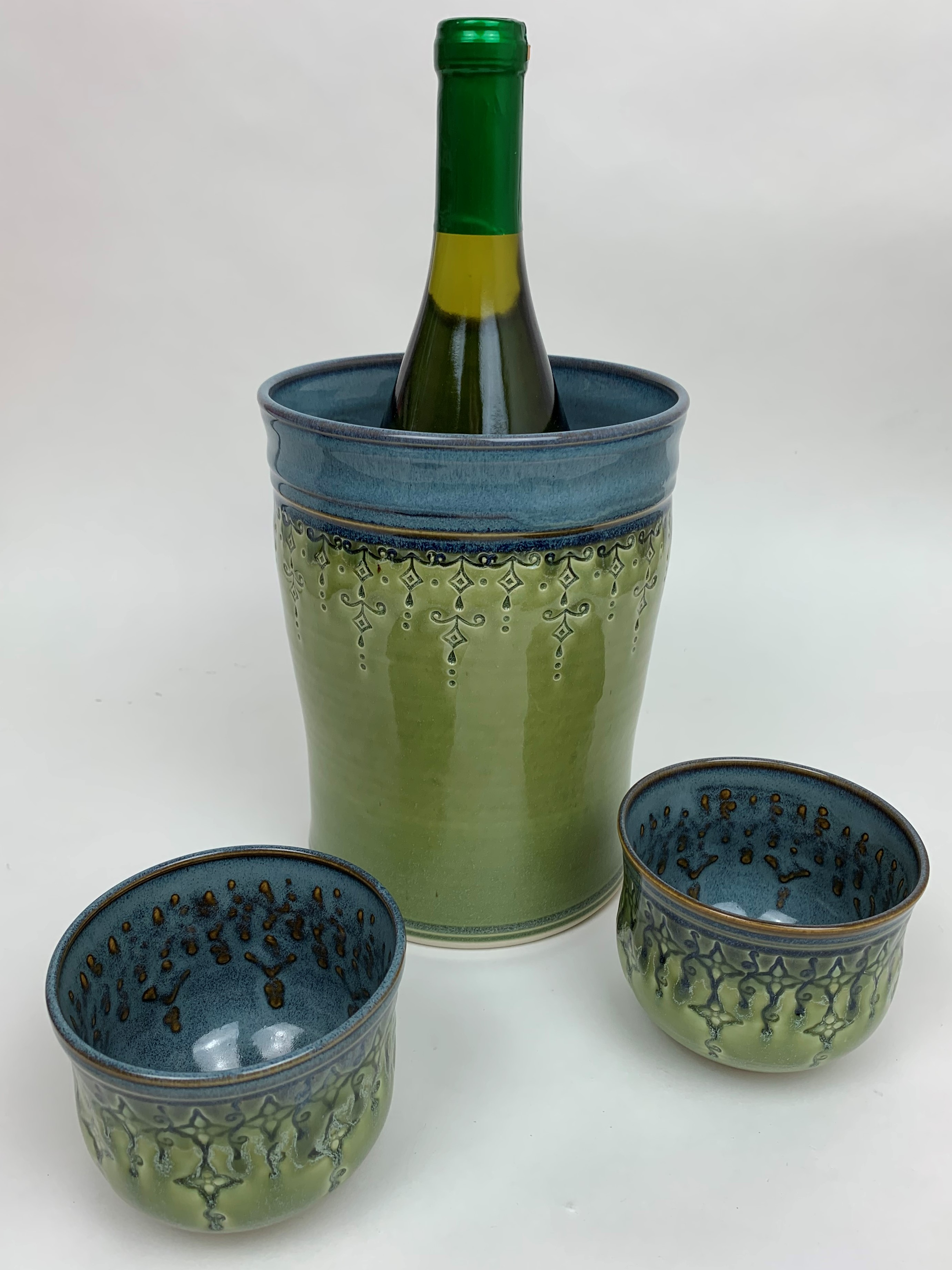 Wine Chillers & Stemless Wine Glasses