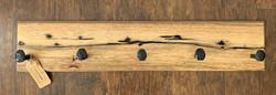 Coat Rack (Persimmon &Epoxy inlay) )