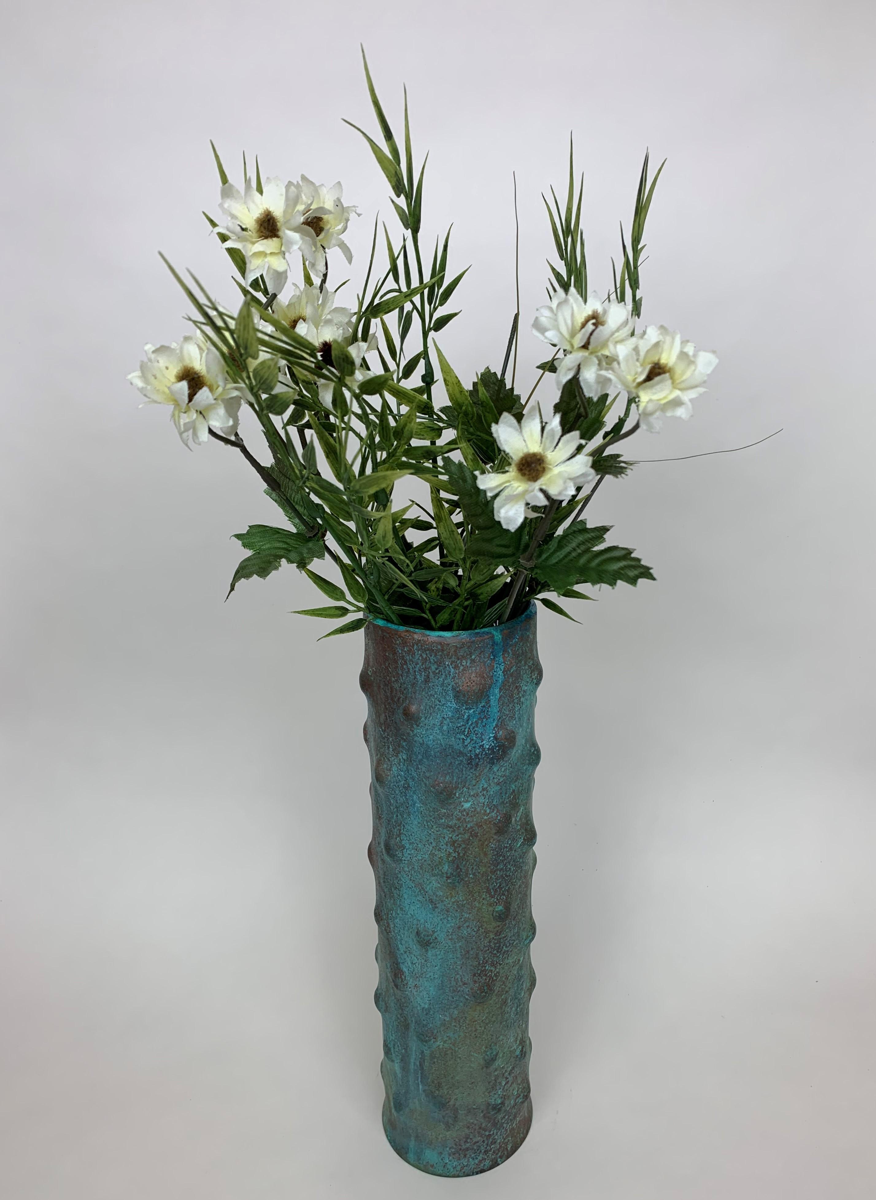 Pipe Organ Coral Full Vase (Vg)