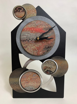 Large Timepiece House Clock