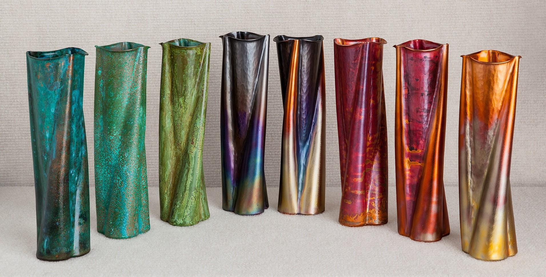 Tulip Bud Vases Multiple Finishes
