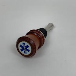 EMT Bottle Stopper (Walnut)