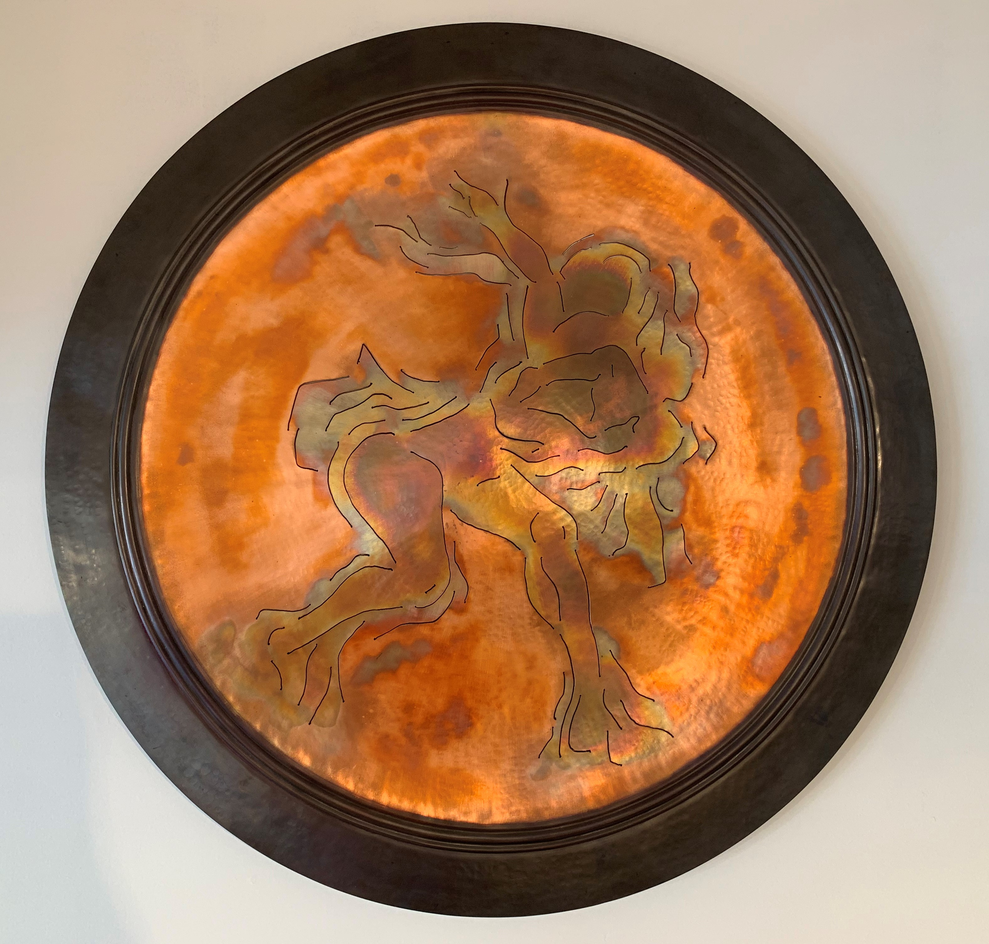 Two Dancers Plate