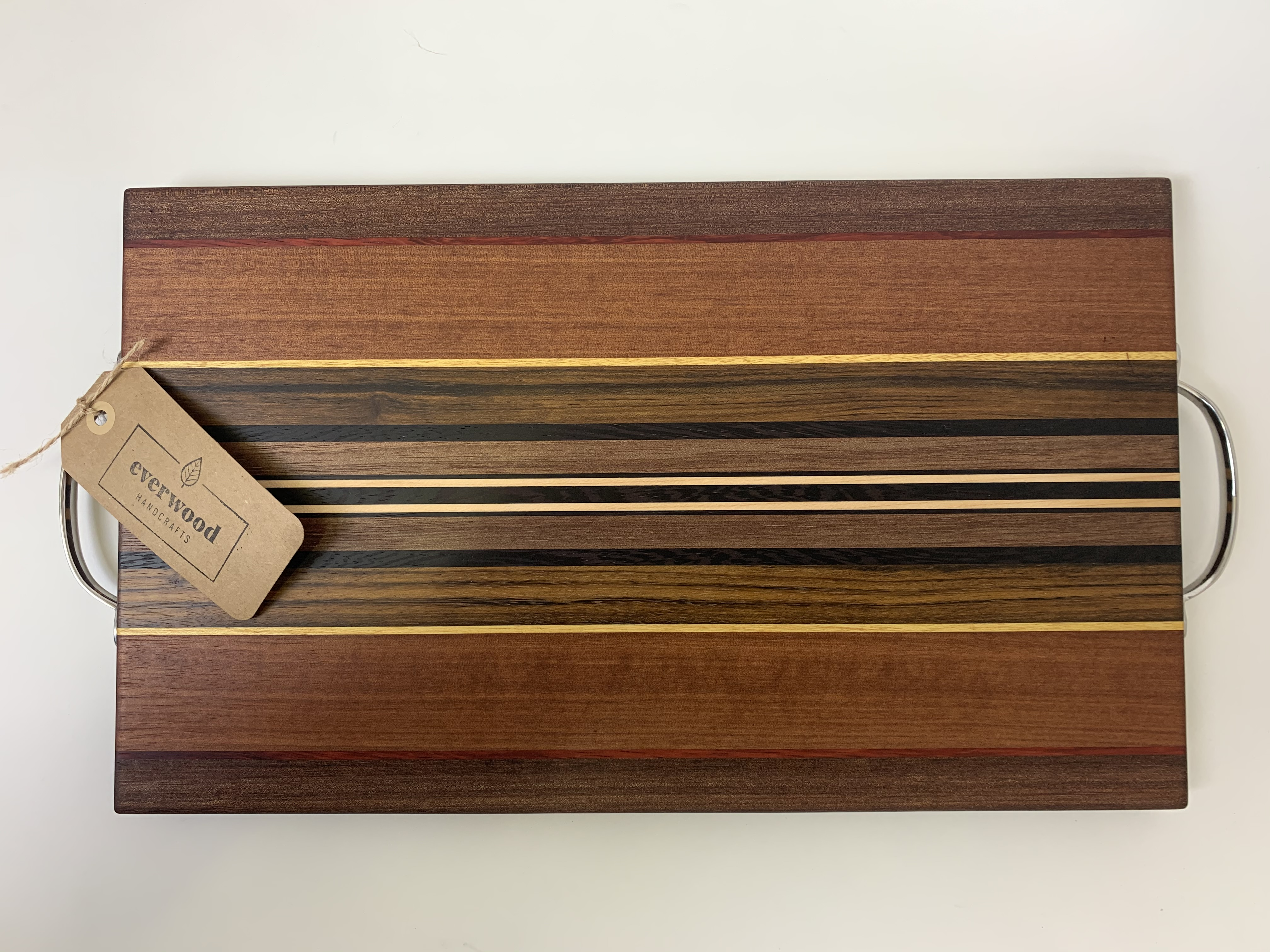 Serving Board w/ metal Handles