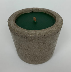 Candle Holder w/ Ponderosa Pine