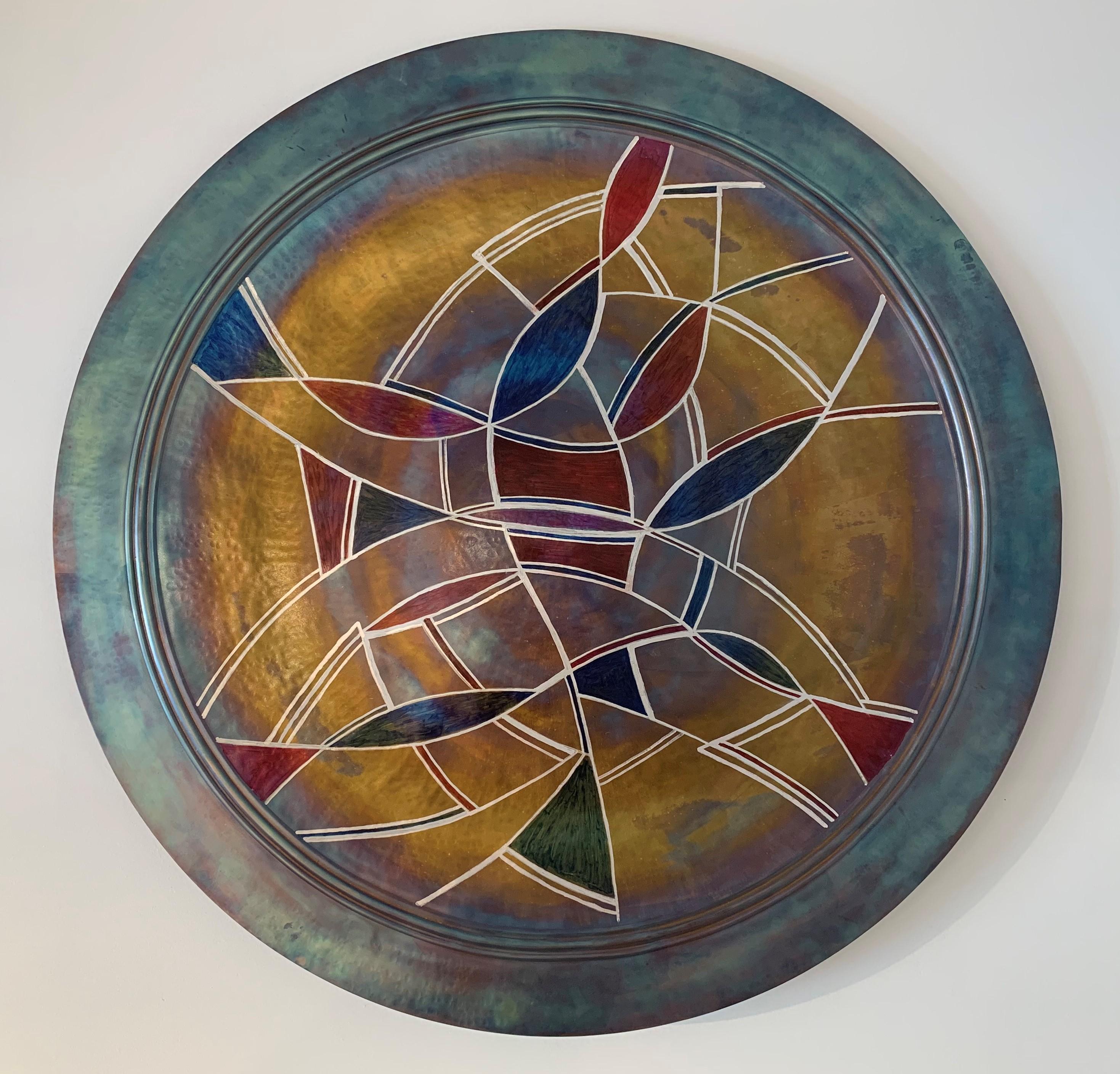 Church Window Plate