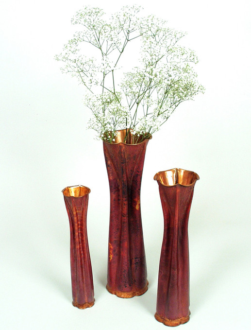 The Fox Glove Vase Set