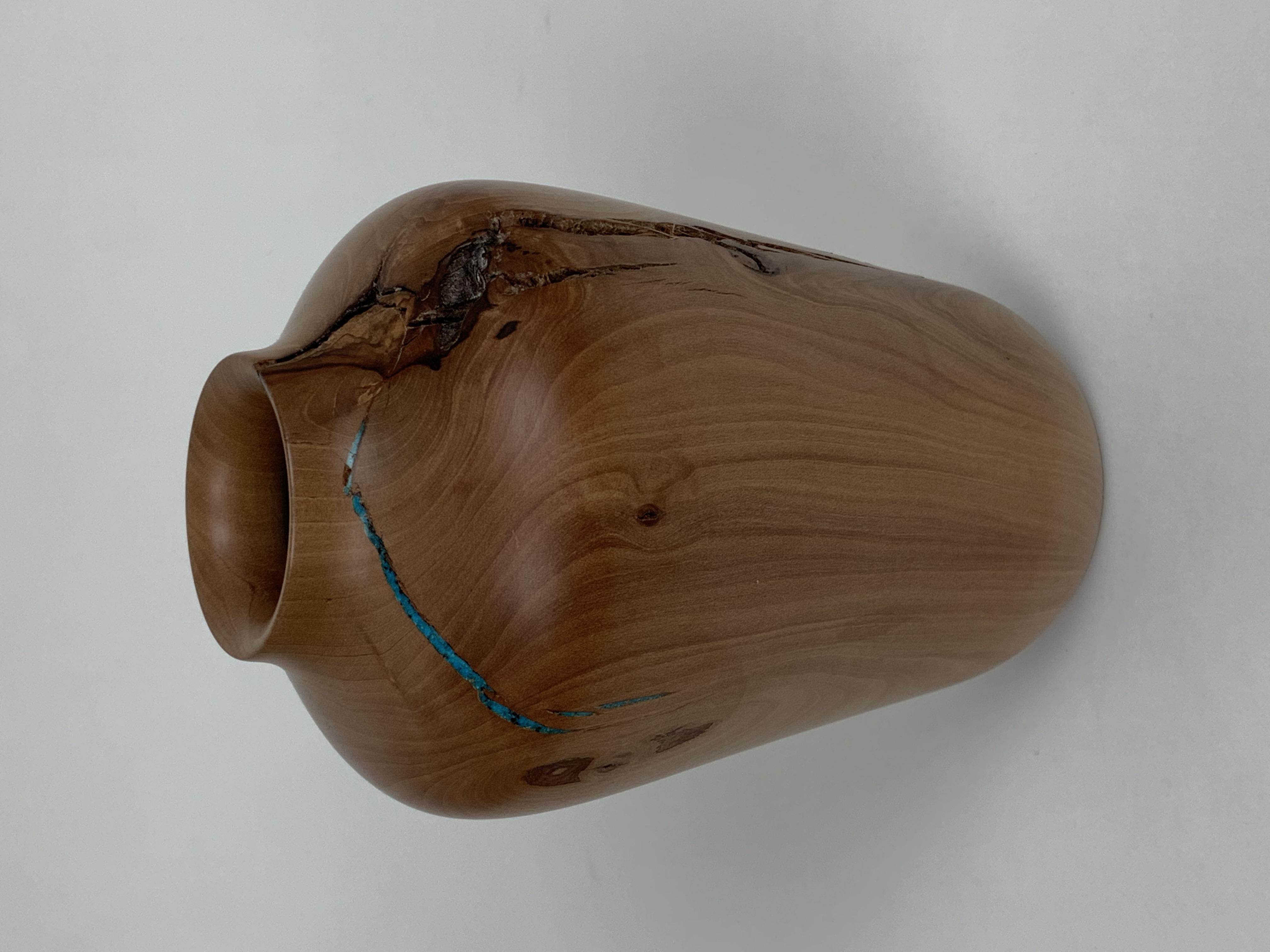 Wood Vase (Pear)
