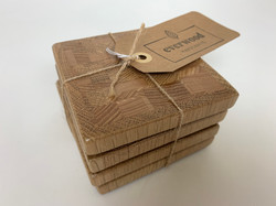Wood Coasters, Mixed Wood