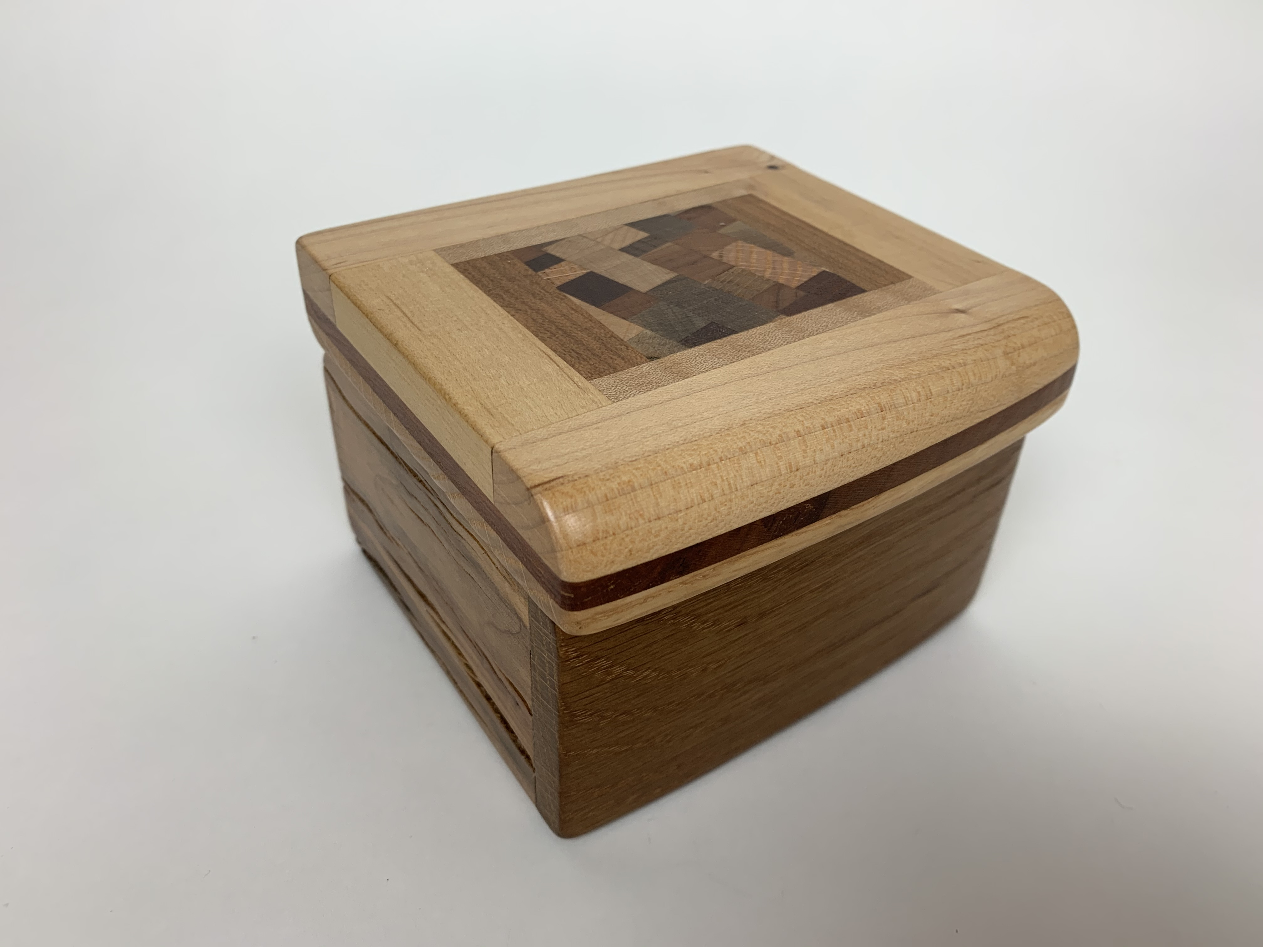 Square Box w/ Geograpics - 1