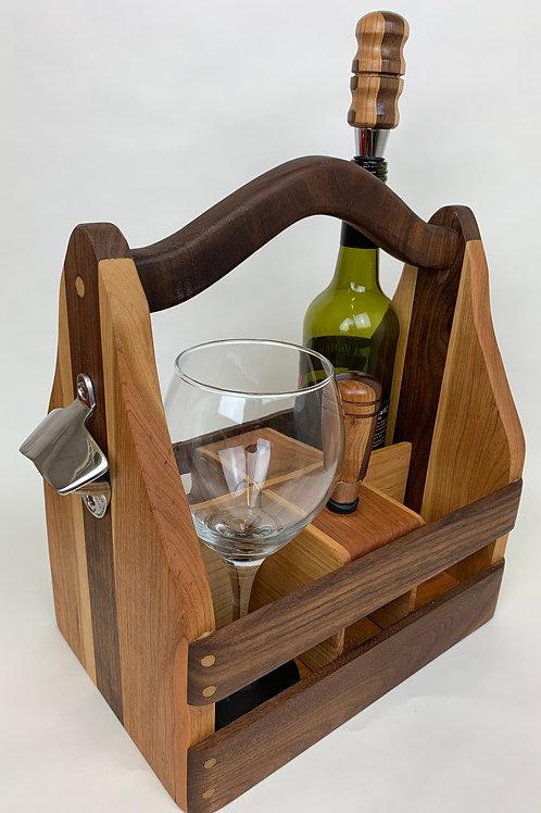 Wine & Beer Caddy Combo