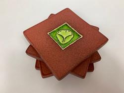 Ginkgo Leaf Coaster