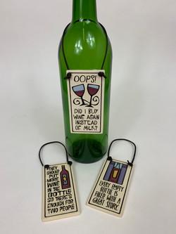 Wine Bottle Hangers