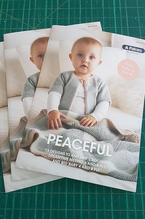 Peaceful Knitting Pattern Book