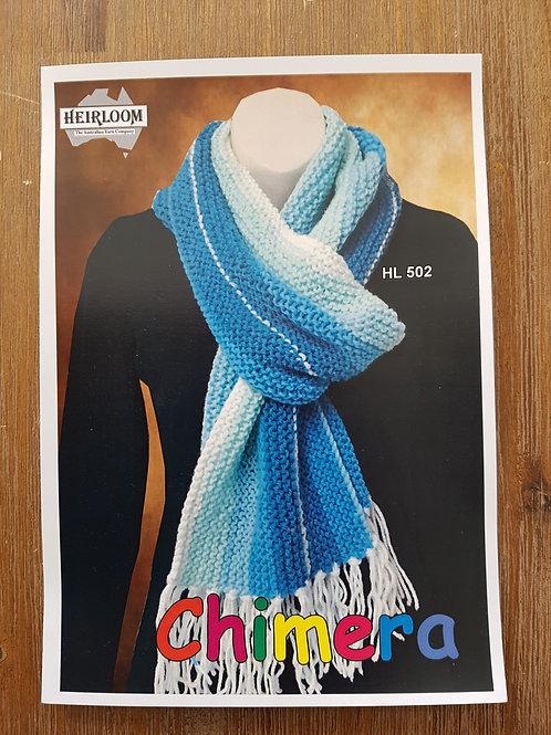 Chimera scarf. hl502
