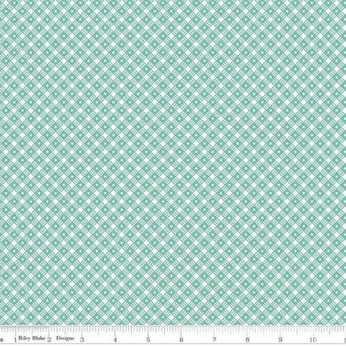 Flea Market/ basket weave seaglass