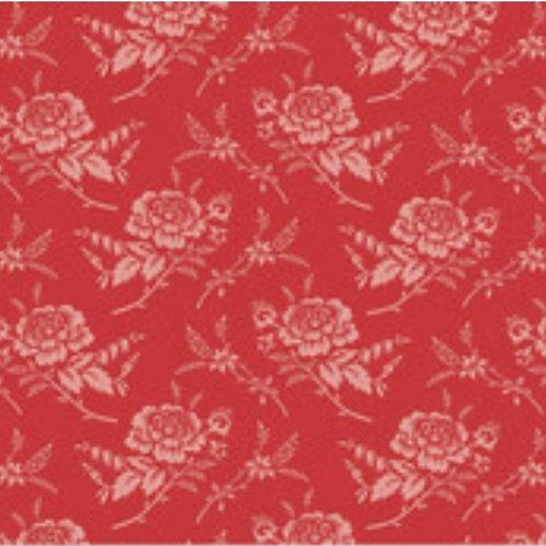 Red elegance, rose red.
