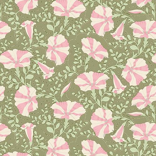 Tilda Garden Life / Striped-Petunia-Green-Small