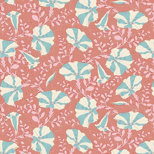 Tilda Garden Life / Striped-Petunia-Coral-Small