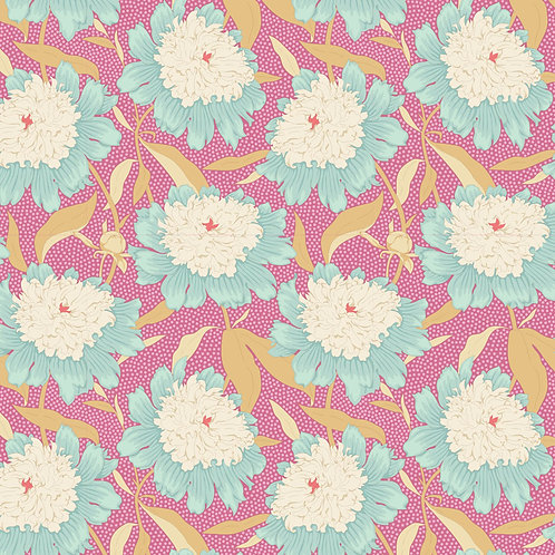 Tilda Garden Life / Bowl-Peony-Pink-Small.