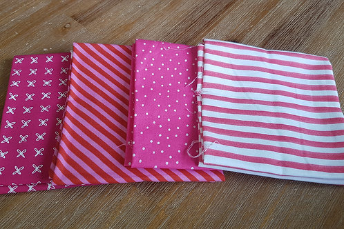 Fat quarters bundle pink
