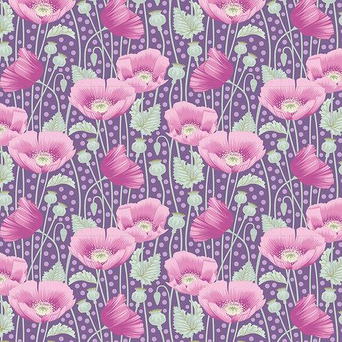 Tilda garden Life / Poppies-Lilac-Small