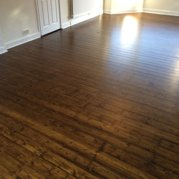 Floor sanding & staining, Newcastle Upon Tyne
