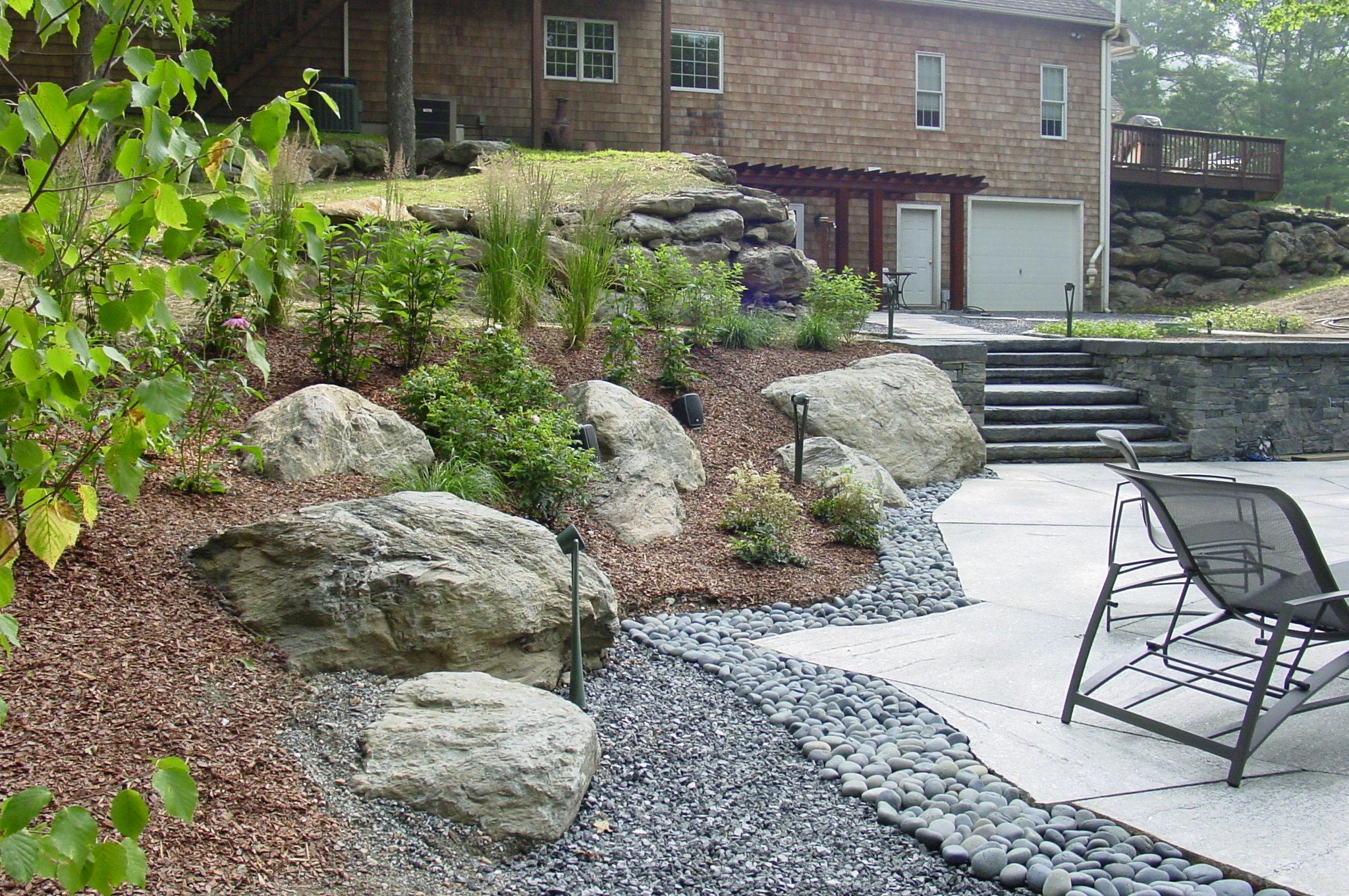 Hillside Plantings