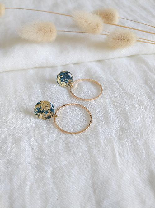 Lison - Bleu Gold