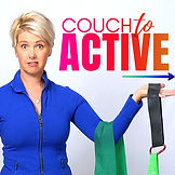 Lyn Lindbegh Couch to Active Podcast Cover Art