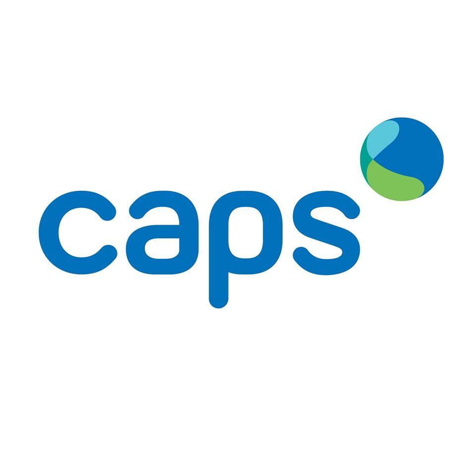 CAPS logo.