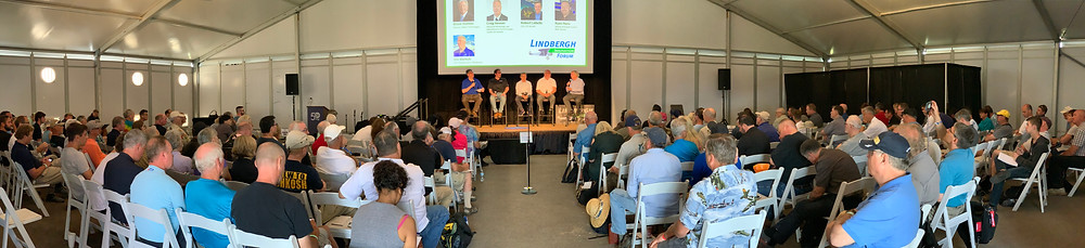 The Lindbergh Innovation Form at EAA AirVenture. Hosted by Erik Lindbergh.
