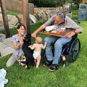 Harmonicas, HBO, and Four-Wheeling. Bob Conte and Kristina Lindbergh.