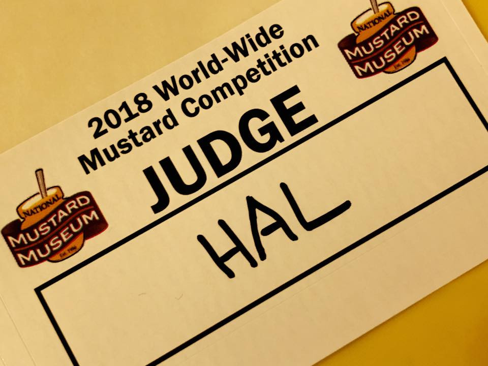 Evidence there is indeed a World-Wide Mustard Competition.