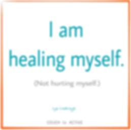 Step 2, I am healing myself. No overuse injury. Exercise. Lyn Lindbergh. Injury free. Exercise injury.