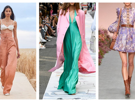 SIX OF THE MOST WEARABLE SPRING / SUMMER TRENDS 2021