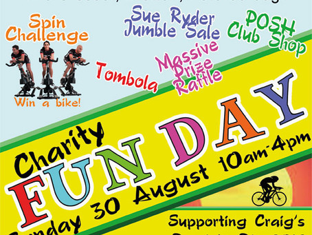 CHARITY FUN DAY FOR PARALYMPIC HOPEFUL