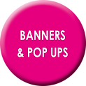 Banners & Pop Ups Button Far Away ArtPrinting Services Whittlesey Peterborough