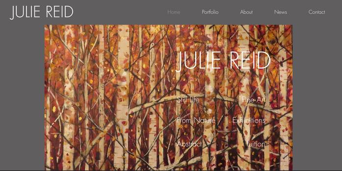 Julie Reid Fine Art, Peterborough