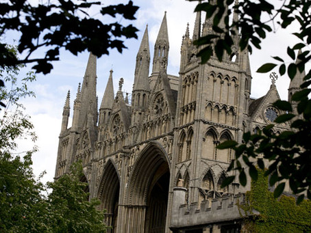 TOURS OF PETERBOROUGH CATHEDRAL ARE BACK