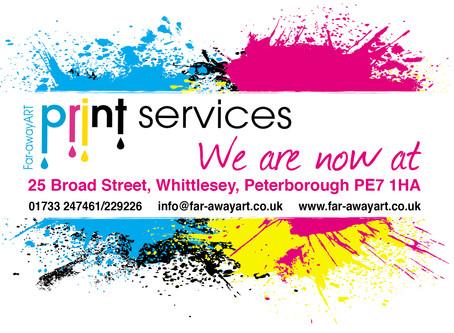 Far-awayART Printing Services Whittlesey Peterborough
