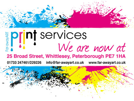 Far-awayART Printing Services Whittlesey Peterborough
