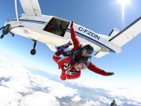 SCF Charity Skydiving Event