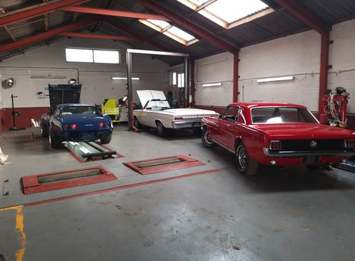 Need Your Classic Car Serviced? Carrot Town Garage Can Collect It.