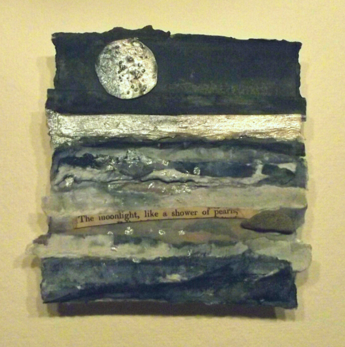 Fragments l - Mixed media collage