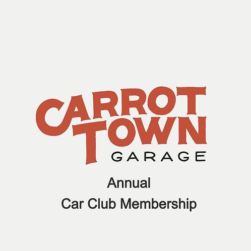 Carrot Town Garage Car Club Membership