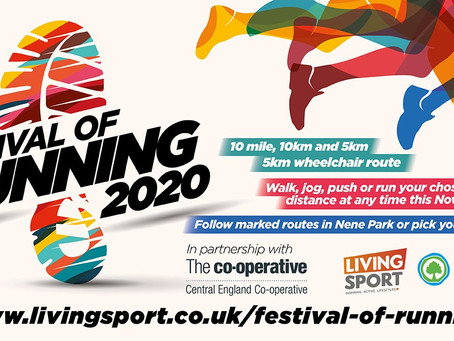 TIME TO JOIN THE FESTIVAL OF RUNNING IN PETERBOROUGH