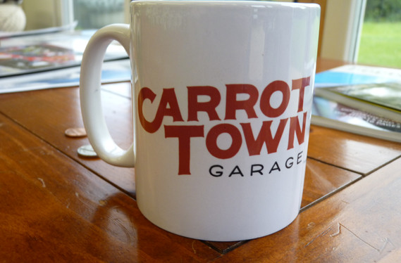 Carrot Town Garage Mug