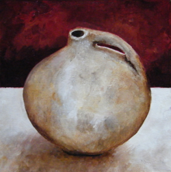Flagon oil on canvas SOLD